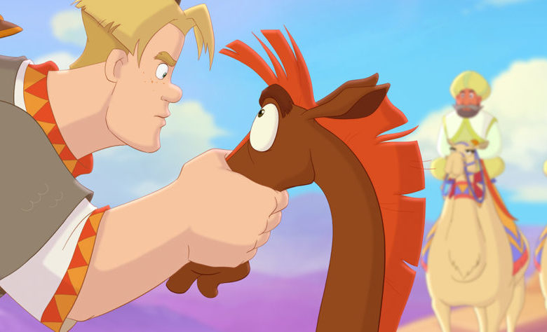 Конь Юлий и большие скачки