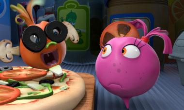 Овощная вечеринка в эфире Малыш ТВ