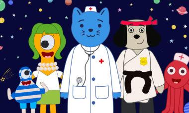Рогач и Моргачи Космический Докто кот с мировых онлайн кинотеатрах