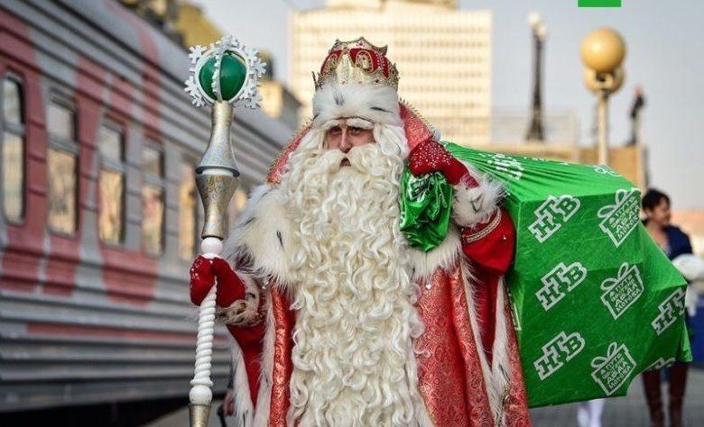 Дед Мороз на Детском радио