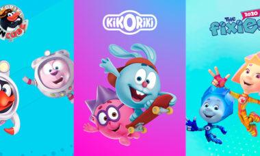 Группа компаний Рики на Kidscreen