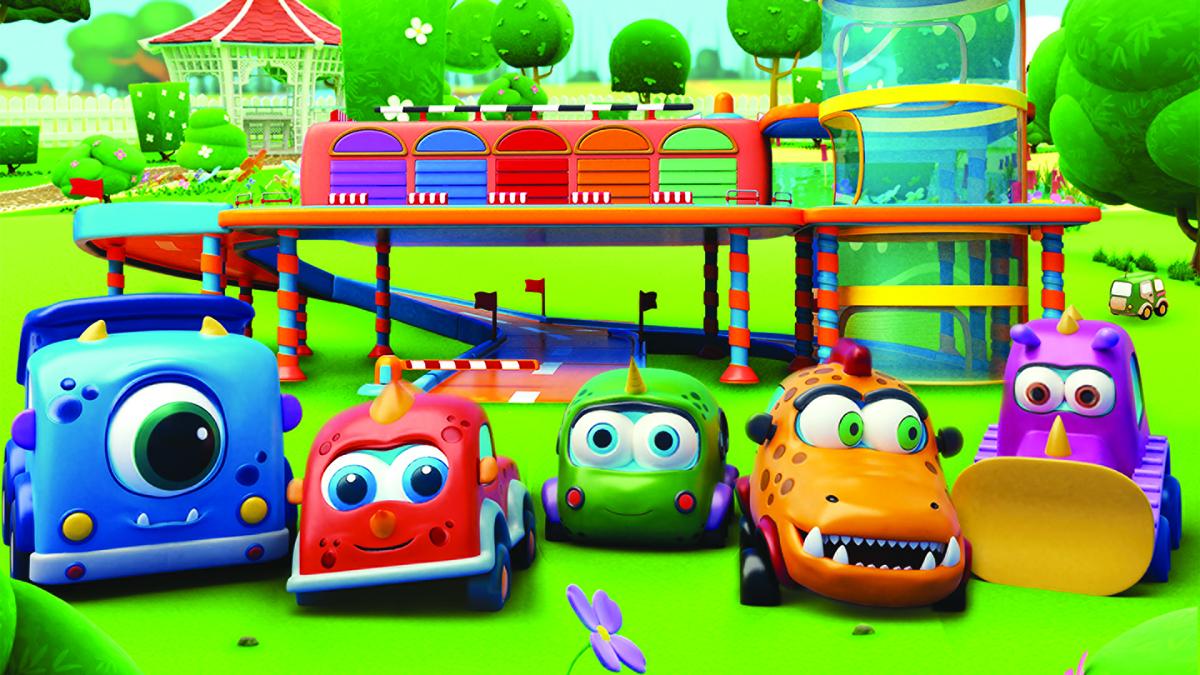Машинки Мокас в эфире Малыш ТВ