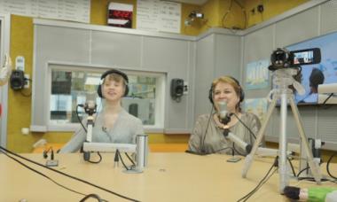Марина Маштакова на Детском радио