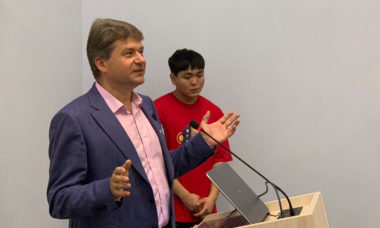 Игорь Шибанов поздравил студентов РАНХГИС